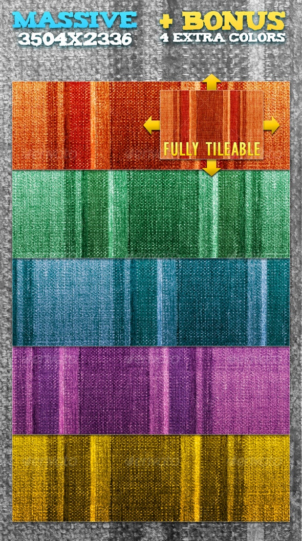 Fabric Fancy - Perfectly Tileable - Fabric Textures