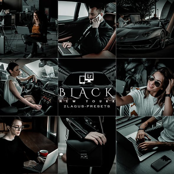 Black New York Presets (Mobile & Desktop)
