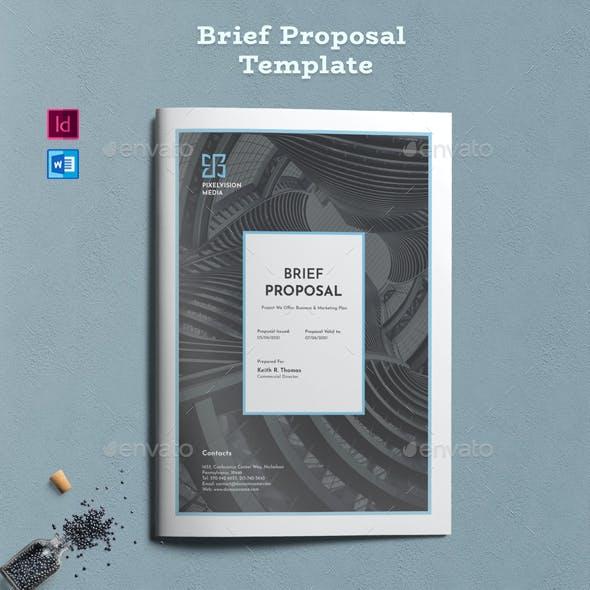 Brief Proposal Word