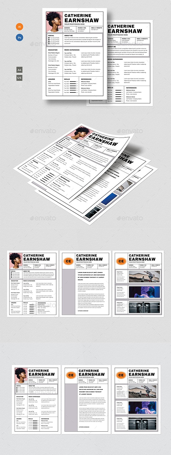 Creative Cv Layout from graphicriver.img.customer.envatousercontent.com