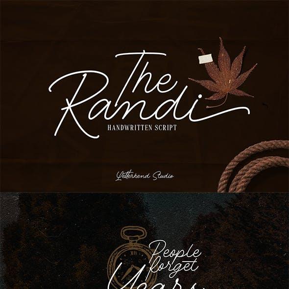 The Randi - Handwritten Script