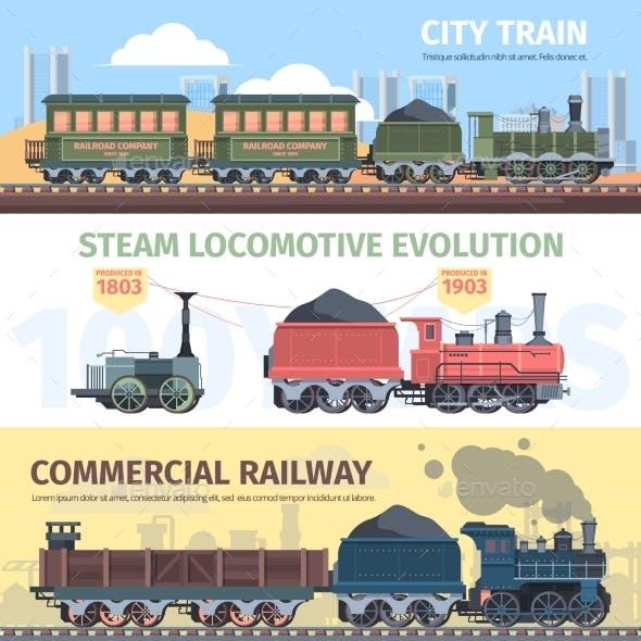 Steam Locomotive Industry Development Horizontal