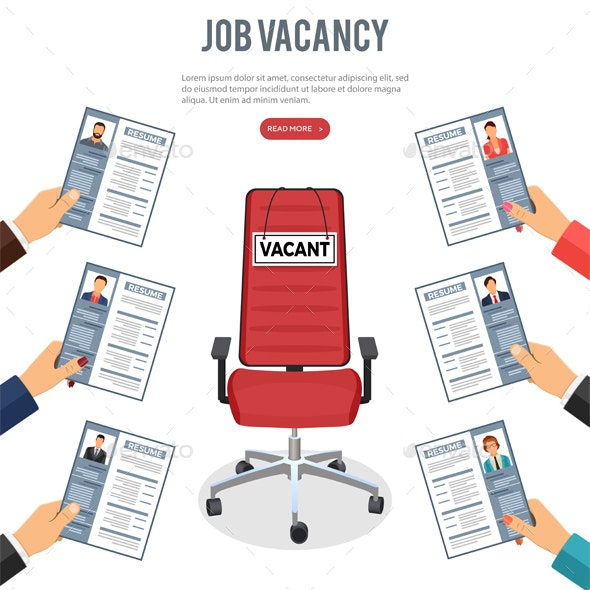Job Agency Employment and Hiring Concept - Concepts Business