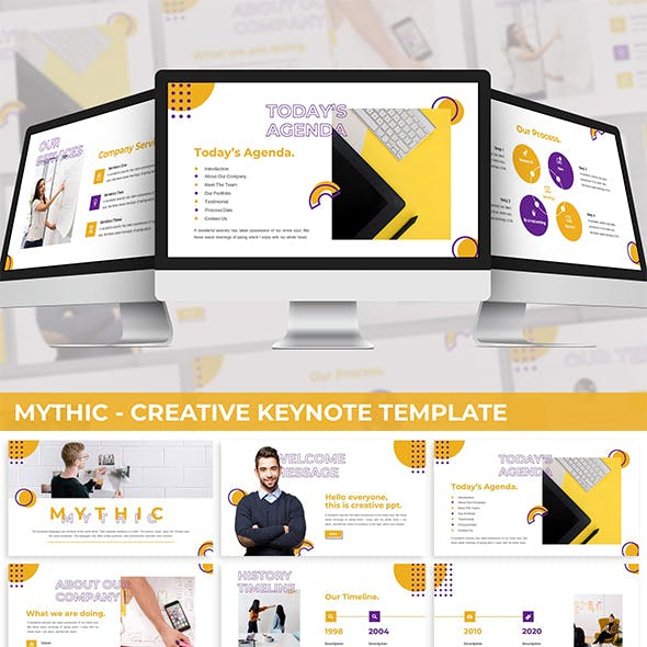 Mythic - Creative Keynote Template