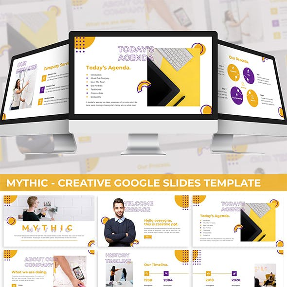 Mythic - Creative Google Slides Template