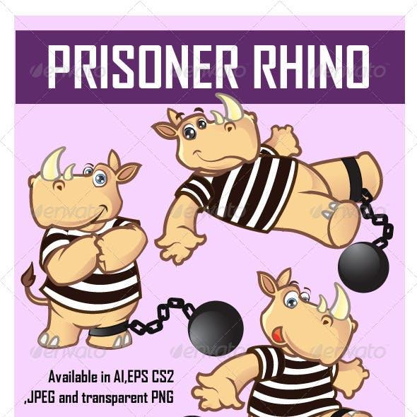 Prisoner Rhino Cartoon