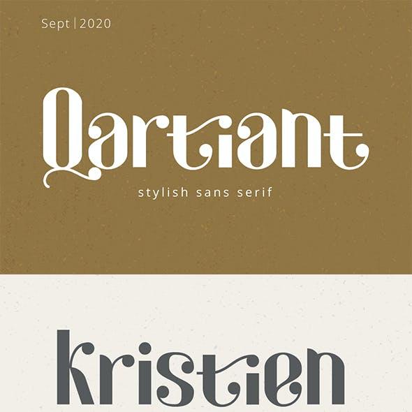 Qartiant - Stylish Sans Serif