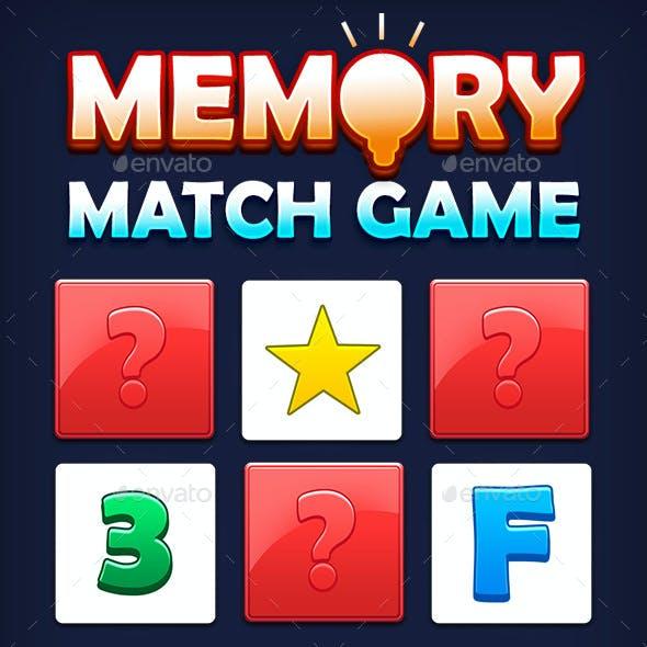 Memory Match Game Kit