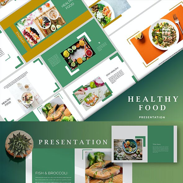 Healthy Food - Creative Keynote Template
