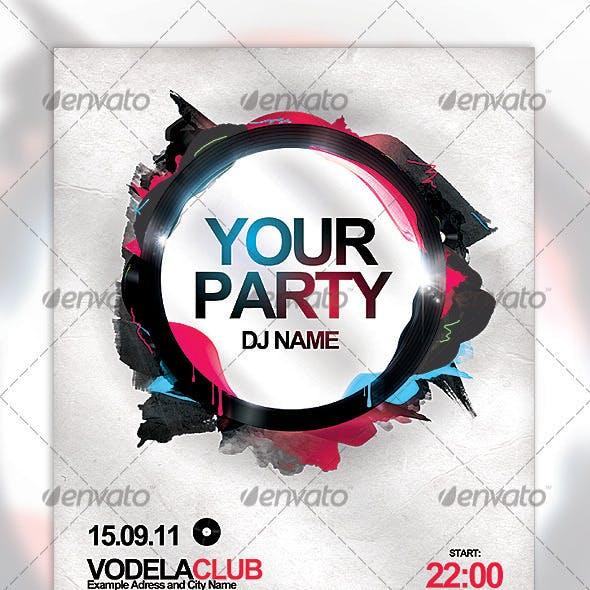 Unique Party Flyer