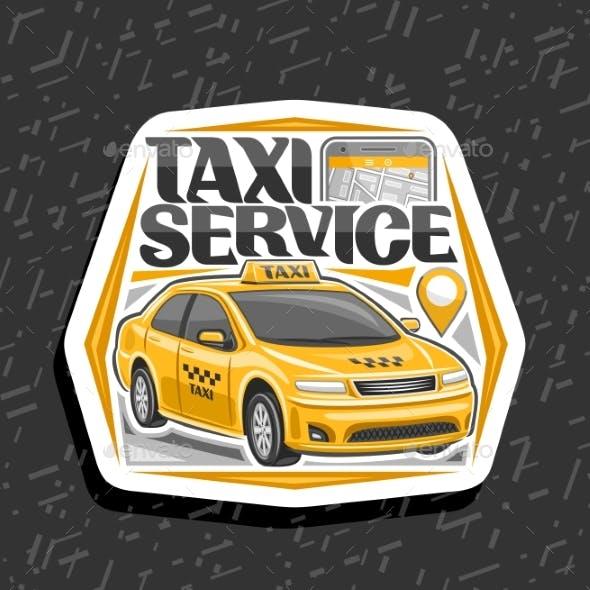 Vector Logo for Taxi Service