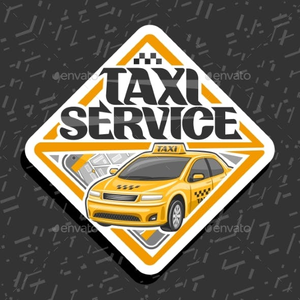Vector for Taxi Service