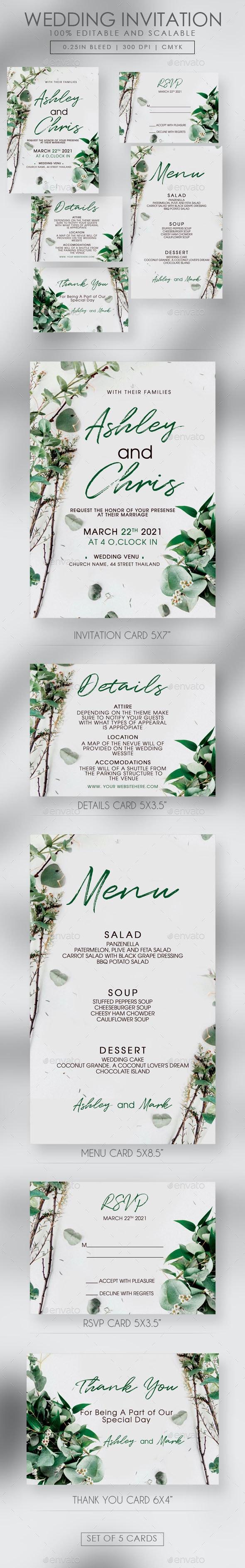 Wedding Invitation Suite - Weddings Cards & Invites