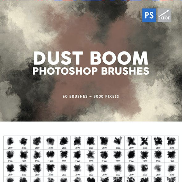 Dust Boom Photoshop Stamp Brushes