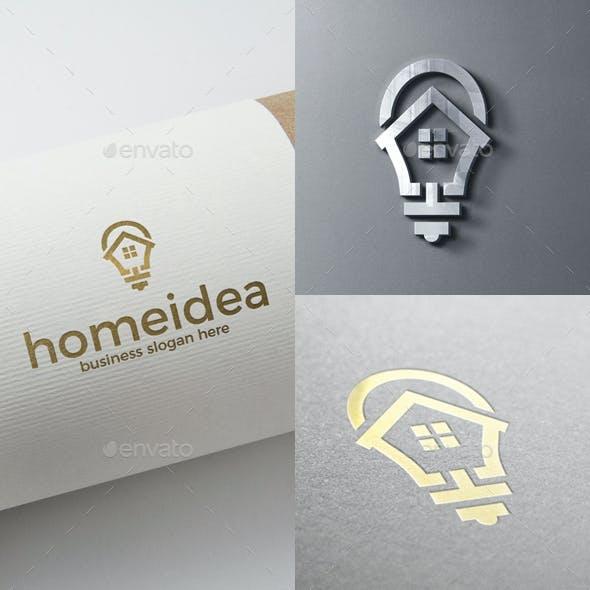 Home Idea House Logo Template
