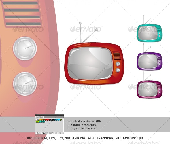 Retro TV 01 - Retro Technology