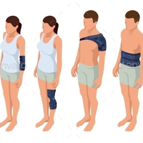 Injury Neck, Shoulder, Arm, Leg, Back
