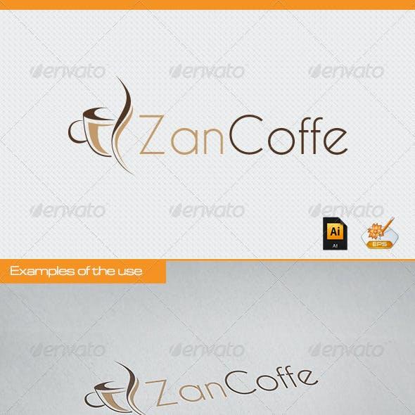 Zan Coffe Logo Template