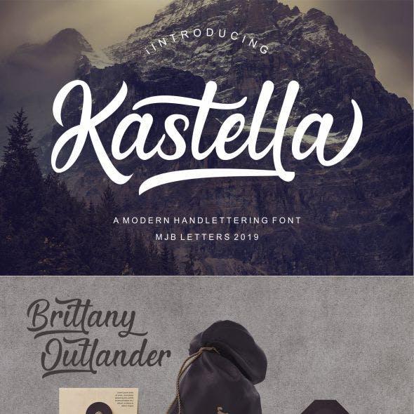 Kastella Script Font