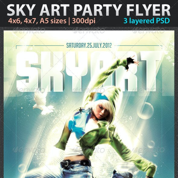 Sky Art Flyer