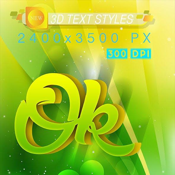 3D Text Effect 16_9_20