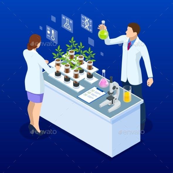 Isometric Concept of Laboratory Exploring New