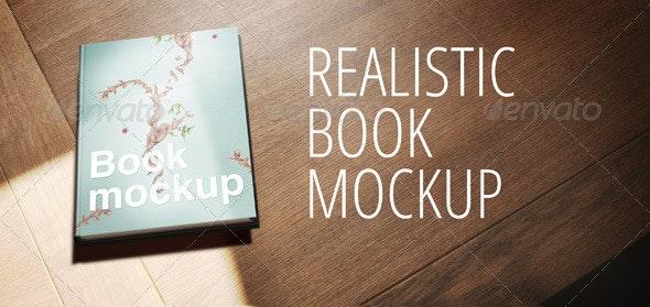 Realistic Book Mockup - Books Print