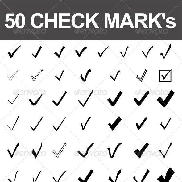 50 Check Marks