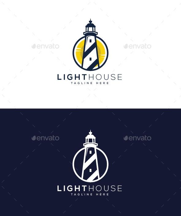 Light House Logo - Buildings Logo Templates