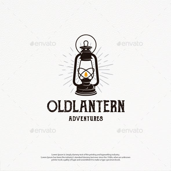 Old Lantern Logo Template