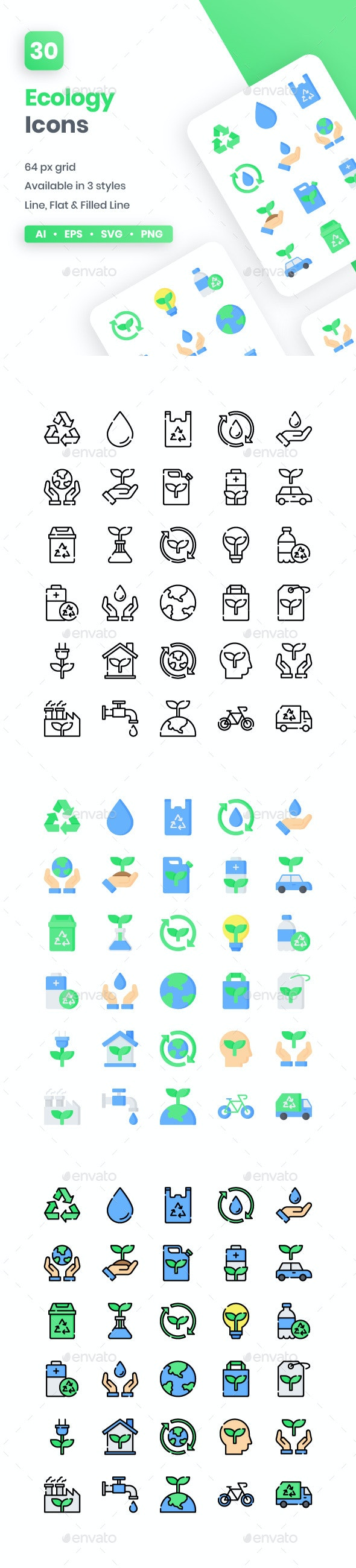 Ecology Icons - Miscellaneous Icons