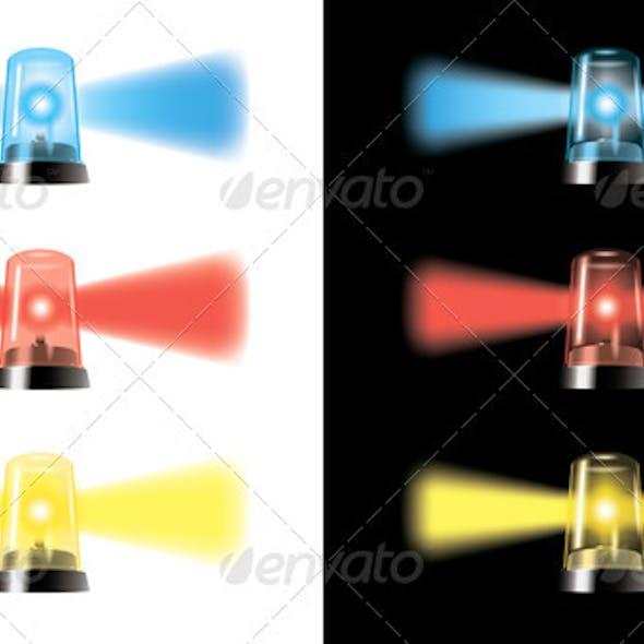 Visual Warning Lights - Special Cars Signal
