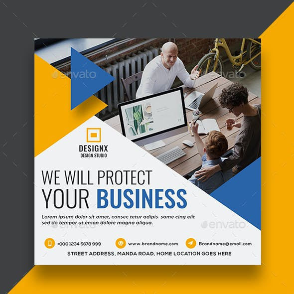 Business Social Media Template V10