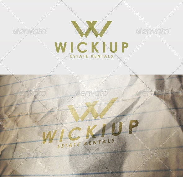 Wickiup Logo - Letters Logo Templates