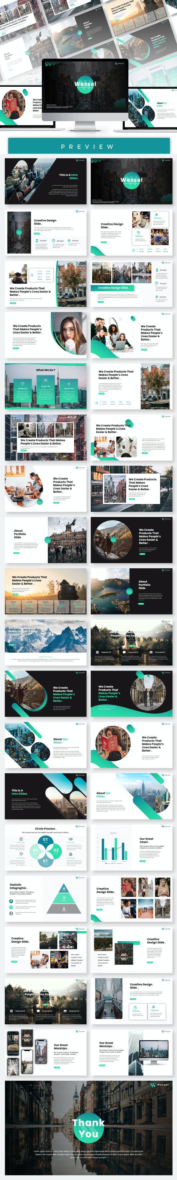 Wessel Google Slides Templates - Google Slides Presentation Templates