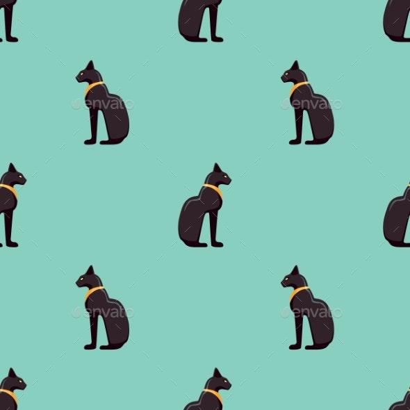 Ancient Egyptian Bastet Cat - Miscellaneous Conceptual