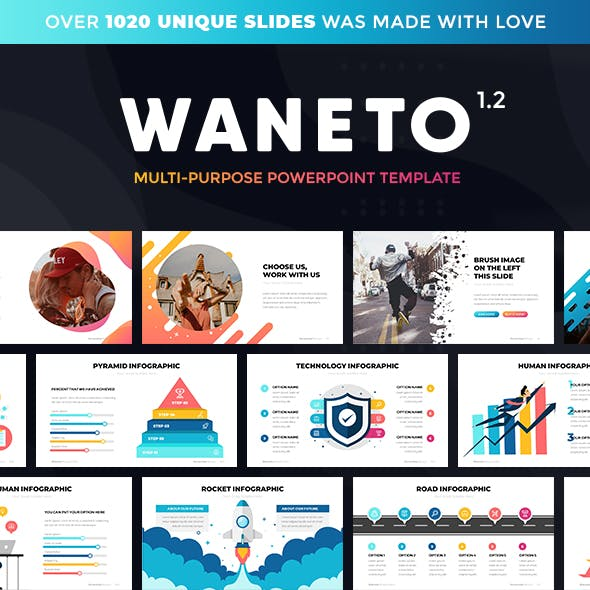 Waneto — Multi-Purpose PowerPoint Template