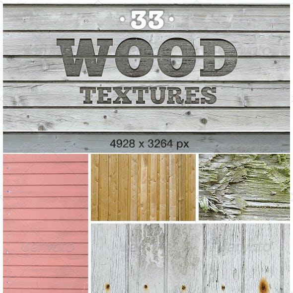 33 Wood Textures