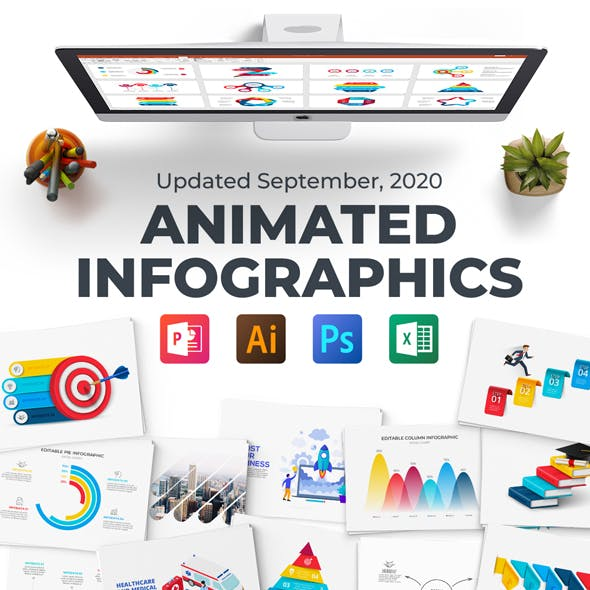 Multipurpose Infographics PowerPoint Templates v.4.6