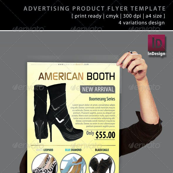 Advertising Product Flyer Template
