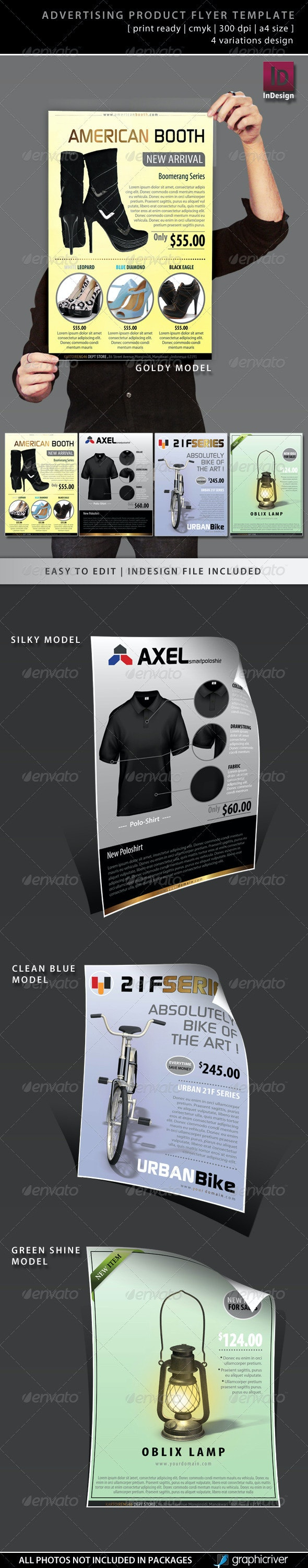 Advertising Product Flyer Template - Commerce Flyers