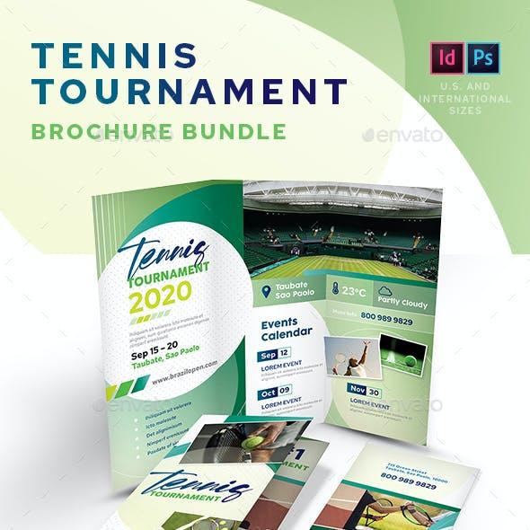 Tennis Tournament Print Bundle
