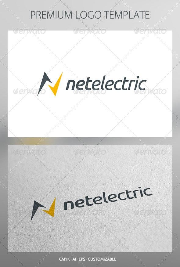 Net Electric Logo Template - Letters Logo Templates