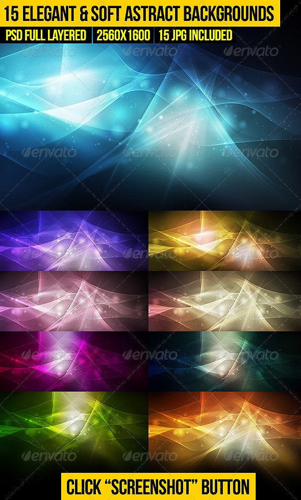15 Elegant & Soft Abstract Backgrounds - Abstract Backgrounds