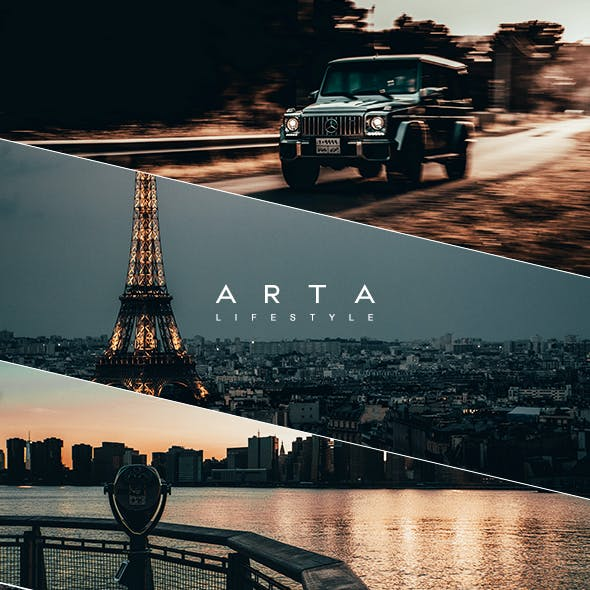 ARTA Lifestyle Presets For Mobile and Desktop Lightroom