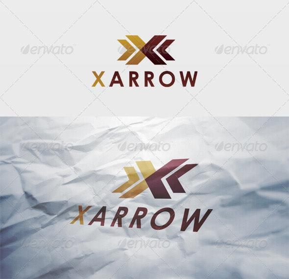 X Arrow Logo - Letters Logo Templates