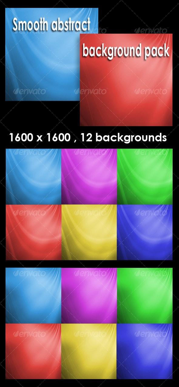 Smooth abstract backgrounds pack V1 - Abstract Backgrounds