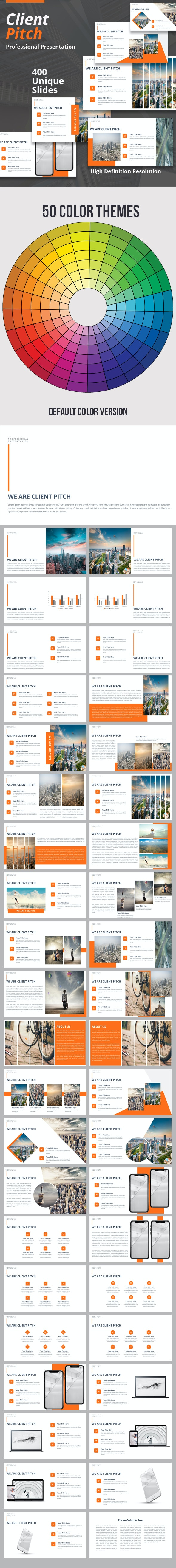 Client Pitch Keynote Template - Business Keynote Templates