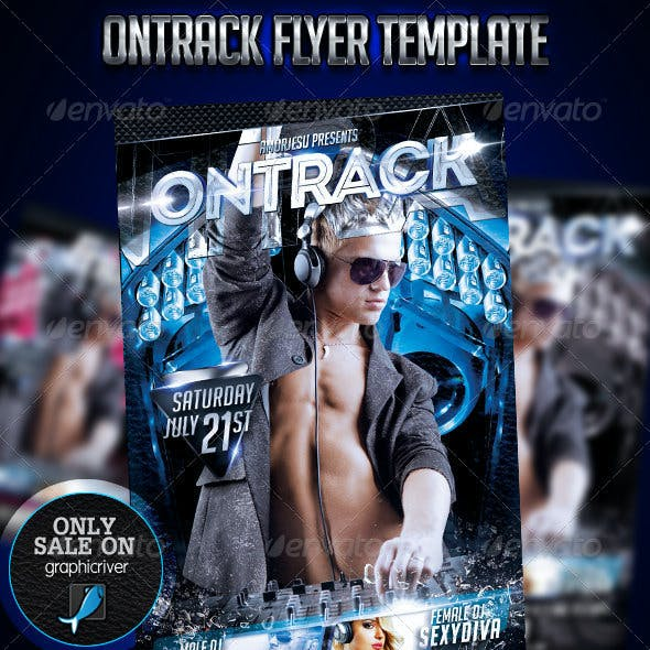 Ontrack Flyer Template
