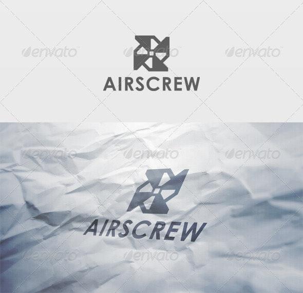Airscrew Logo - Vector Abstract
